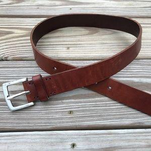 Amanda Smith Women Belt Genuine Leather Brown Belt